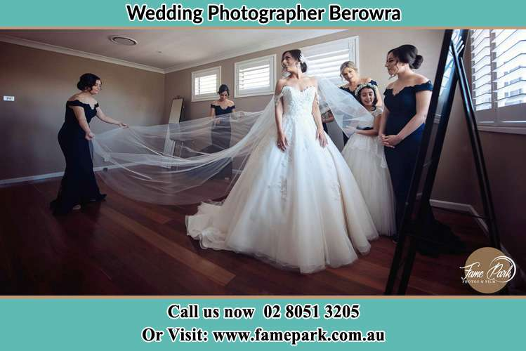 Photo of the Bride and the secondary sponsor preparing Berowra NSW 2081