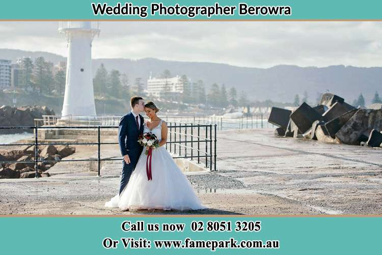 Photo of the Bride and Groom at the Watch Tower Berowra NSW 2081