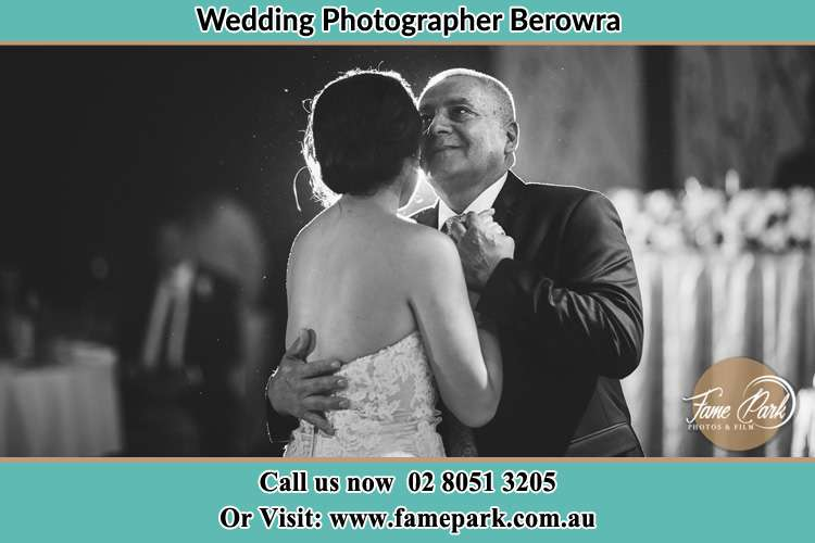 Photo of the Bride dancing with her father Berowra NSW 2081
