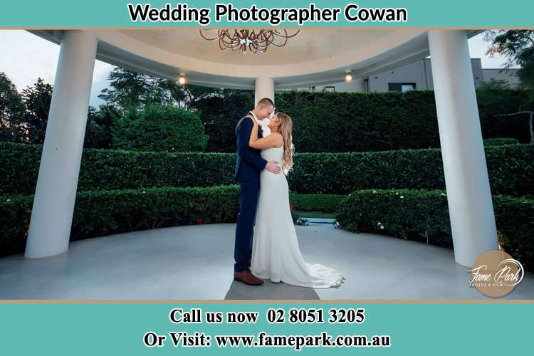 Photo of the Groom and the Bride dancing Cowan NSW 2081