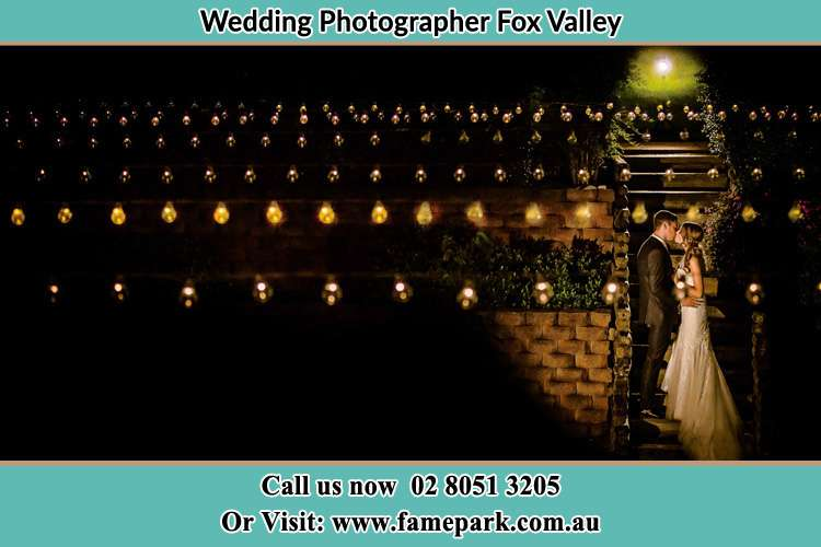 Photo of the Groom and the Bride kissing Fox Valley NSW 2076