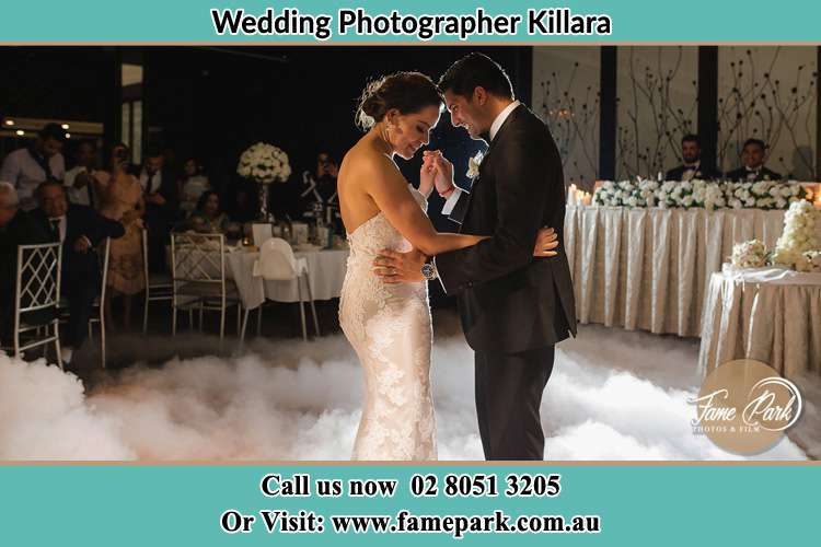 Photo of the Bride and the Groom dancing Killara NSW 2071