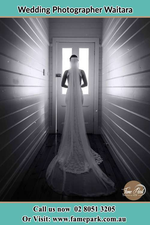 Photo of the Bride going out the door Waitara NSW 2077