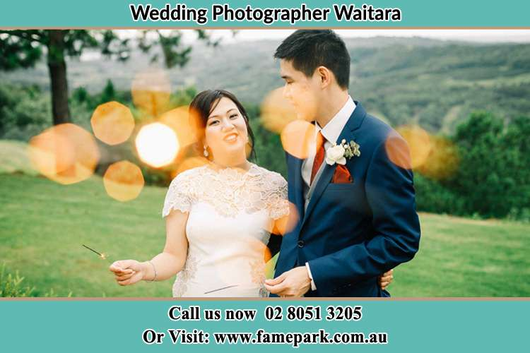 Photo of the Bride and the Groom at the yard Waitara NSW 2077