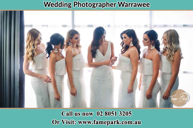 Photo of the Bride and the bridesmaids Warrawee NSW 2074